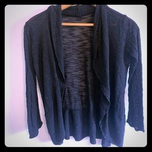 5/$15! Say what light black cardigan